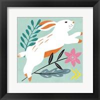 Framed Easter Bunnies I