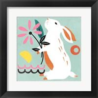 Framed Easter Bunnies II