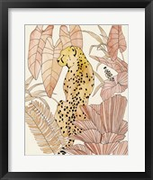 Framed Blush Cheetah I
