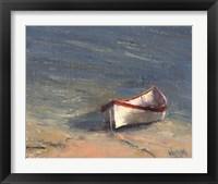 Framed Beached Boat I