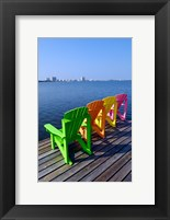 Framed Adirondack Chairs, Orange Beach, Alabama