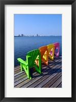 Framed Adirondack Chairs, Orange Beach, Alabama