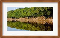 Framed Sailing on the Tombigbee Waterway in Alabama