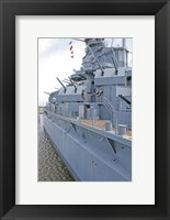Framed USS Alabama Battleship Memorial Park Mobile Alabama