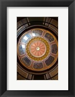 Framed Alabama, Montgomery, State Capitol Building Dome
