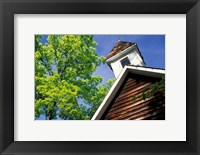 Framed Old School House, Palisades Park, Alabama