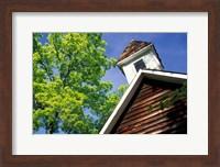 Framed Old School House, Palisades Park, Alabama