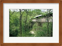 Framed Horton Mill Covered Bridge, Alabama