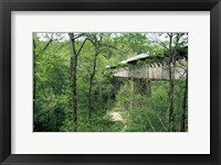 Framed Horton Mill Covered Bridge, Alabama