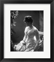 Framed Grand Duchess Elizabeth Fyodorovna of Russia