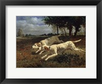 Framed Running Dogs, 1853