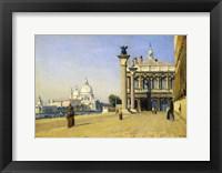 Framed Morning in Venice, 1834
