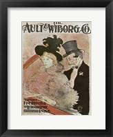 Framed Au Concert, 1896