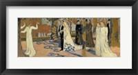 Framed Wedding Procession, c1892-c1893