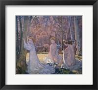 Framed Figures in Spring Landscape (Sacred Grove), 1897