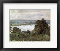 Framed Seine near Vernon, c1911