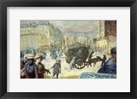 Framed Morning in Paris, 1911