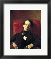 Framed Portrait Alexander Strugovshchikov, 1840