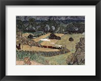 Framed Landscape with Freight Train, 1909