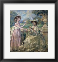 Framed Two Girls on a Terrace, 1903