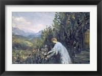 Framed Lady in the Garden, 1909-1911