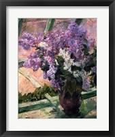 Framed Lilacs in a Window, c1880