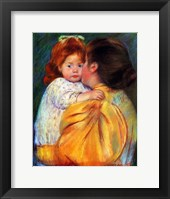 Framed Maternal Kiss, 1896