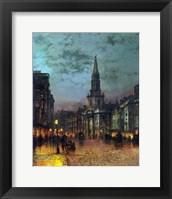 Framed Blackman Street, London, 1885