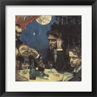 Framed Symposium, (Study) Right Jean Sibelius, 1894