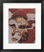 Framed Self-Portrait as Fresco, 1894