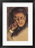 Framed Portrait of Gustav Mahler, 1907