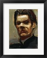 Framed Portrait of the Author Maxim Gorky (1868-1939), 1906
