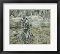 Framed Imatra in Wintertime, 1893