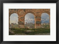 Framed View through Three Arches of the Third Storey of the Colosseum, 1815