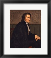 Framed Portrait of the Sculptor Bertel Thorvaldsen (1770-1844), 1838