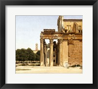 Framed View of the Via Sacra, Rome, 1814