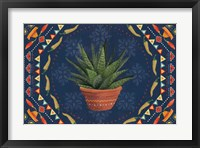 Framed Tex Mex Fiesta II Dark