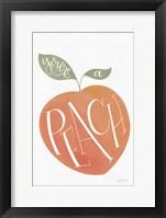 Framed You are a Peach