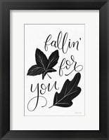 Framed Fallin For You BW