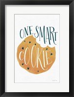 Framed One Smart Cookie