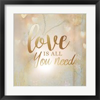 Framed Love is All You Need