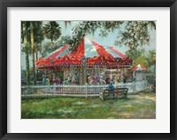 Framed J & S Carousel