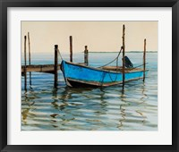 Framed Apalachicola Oyster Boat