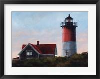 Framed Nauset Light at Cape Cod