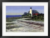 Framed St. Marks Lighthouse