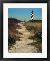 Framed Cape Hatteras Path