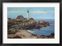 Framed Portland Head Lighthouse