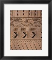 Framed Wood Pattern II