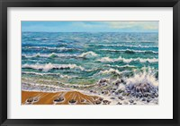 Framed Wind White Waves