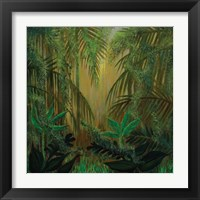 Framed Jungle Memory